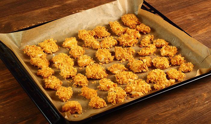 Baked Vegetable Nuggets