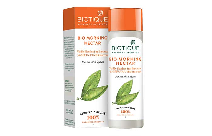 Biotique Bio Morning Nectar Sunscreen