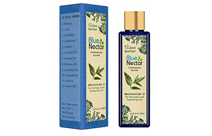 Blue Nectar Tea Tree Scalp & Anti Dandruff Hair Oil