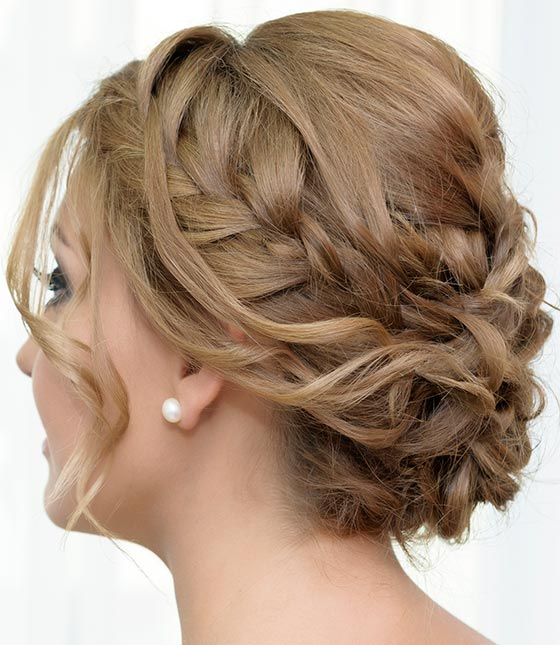 20 Braided Bun