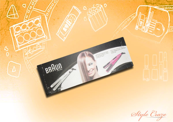 Braun Ceramic Tourmaline Hair Straightener