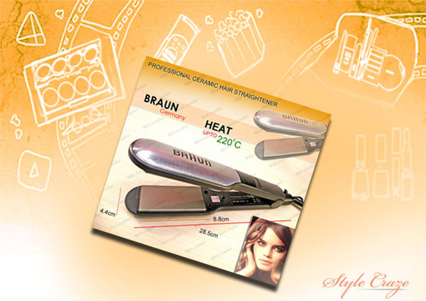 Braun ZF-6022 Hair Straightener