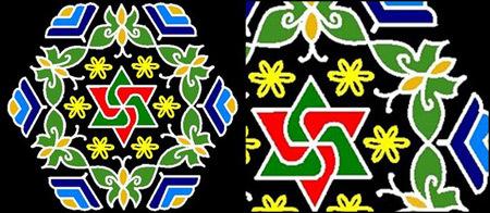 Butterfly Kolam