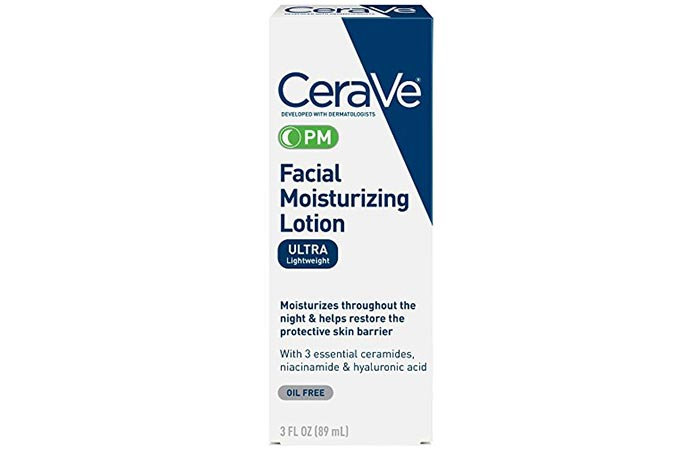 CeraVe PM Facial Moisturizing Solution