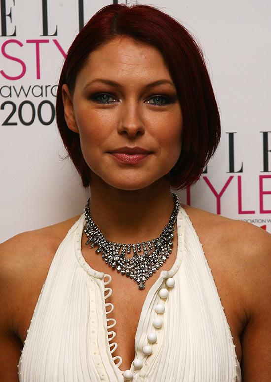 Chin-Length Dark Red Bob with Tapered Ends