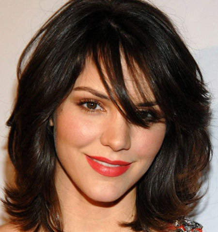 Short Layered Hairstyles HairStyles For Men For Long Hair For Short Hair  2014 For Medium Hair For Girls For Women For Round Faces With Bangs