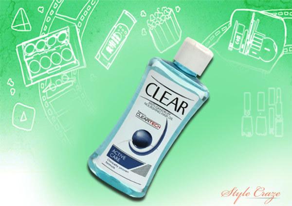 Clear Anti Dandruff Nourishing Hair Oil