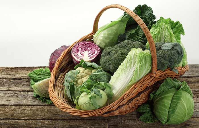 Top calcium-rich foods - Cruciferous Vegetables (Cabbages)
