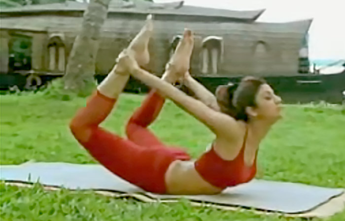 3 Dhanurasana For Stress Release And Relief From Menstrual Cramps