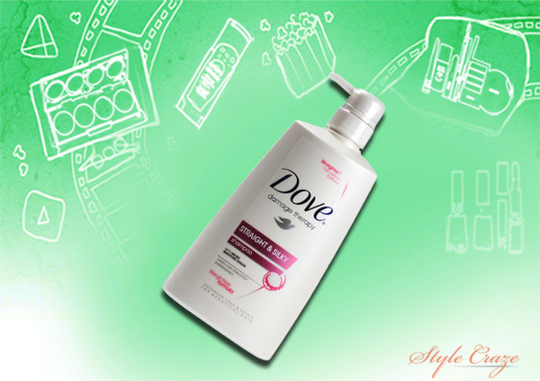 Dove Damage Therapy Straight and Silky Shampoo
