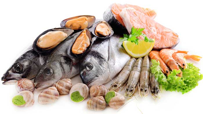 Top calcium-rich foods - Eggs, Meat, And Seafood Rich In Calcium