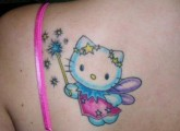 Fairy Kitty tattoo
