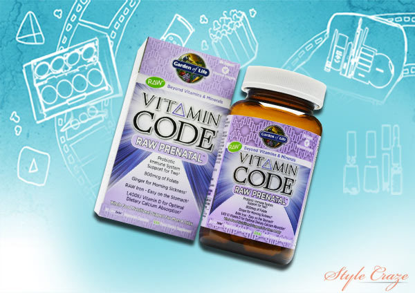 garden of life vitamin code raw prenatal