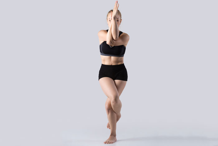 Garudasana - Bikram Yoga