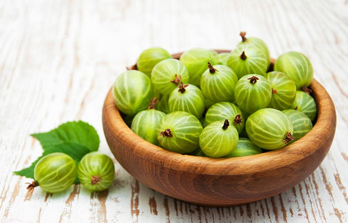 Gooseberries for hair growth