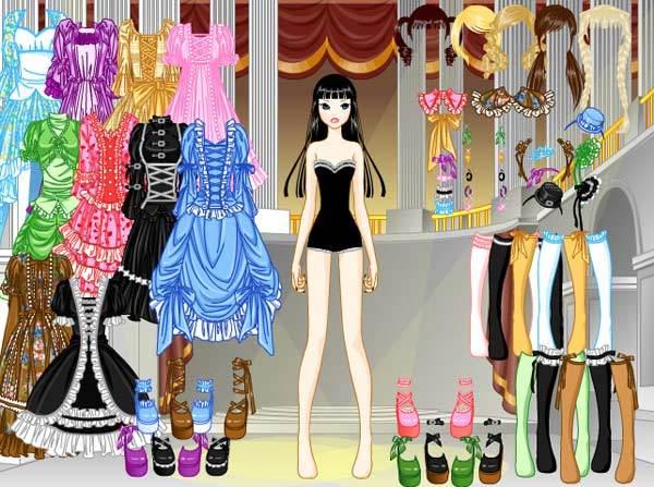 gótico lolita vestir