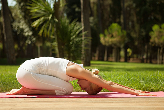 Half Tortoise Pose - Bikram Yoga