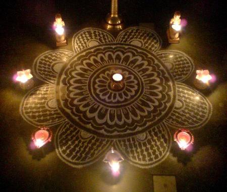 Karthigai Kolam