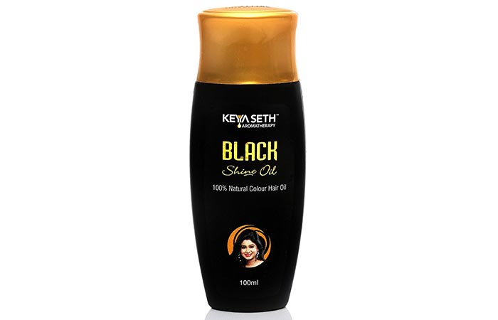 Keya Seth Aromatherapy Hair Products - Keya Seth Aromatherapy Black Shine Oil