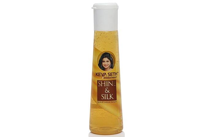 Keya Seth Aromatherapy Hair Products - Keya Seth Aromatherapy Shine & Silk Dandruff Removal Shampoo