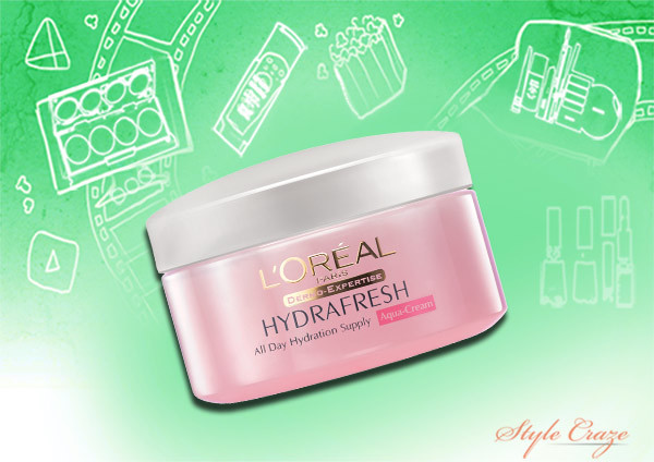 loreal paris hydrafresh aqua cream