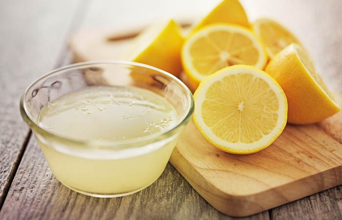 Wet Dandruff - Lemon Juice And Amla Juice