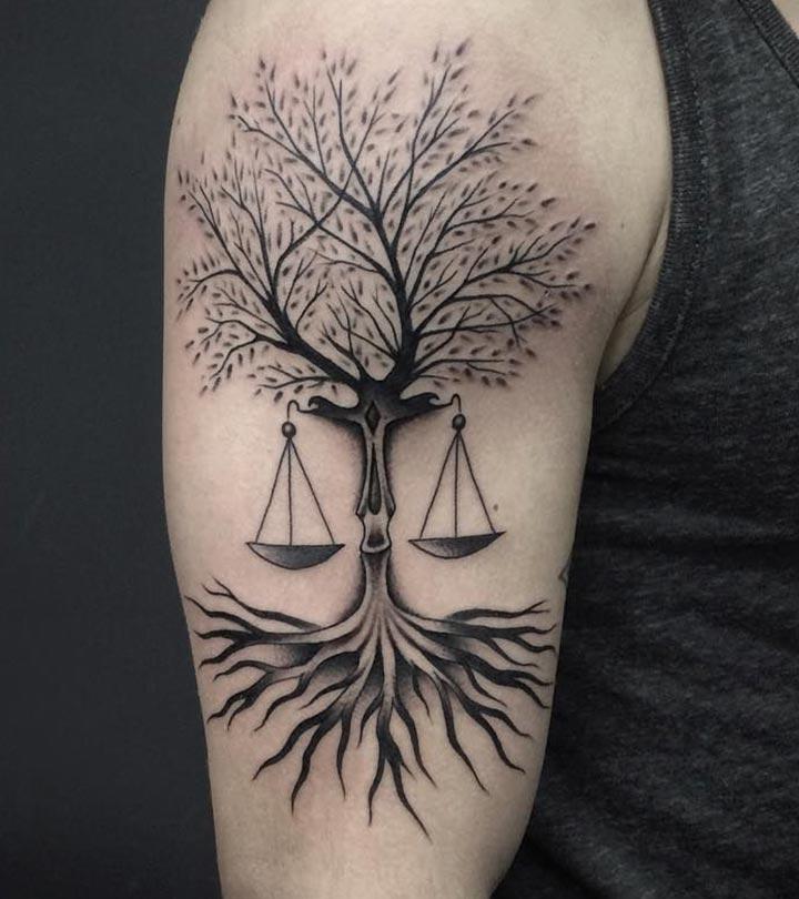 Libra-Tattoo-Designs