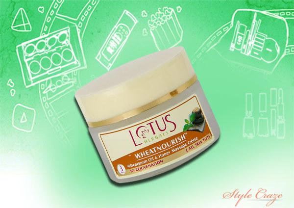 lotus herbals nourishment creme