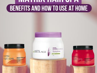 MATRIX Hair Spa Benefits And How To Use At Home