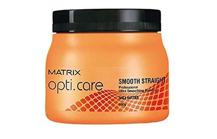 MATRIX opti.care Smooth Straight Professional Ultra Smoothing Masque