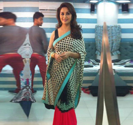 Madhuri in a mall