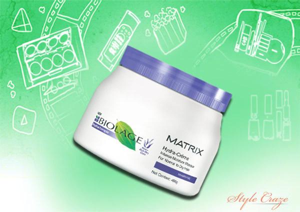 matrix biolage hydra creme intense moisture masque