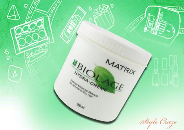 matrix biolage hydrating hair masque