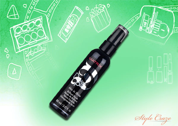 matrix design pulse mix in shine brilliant serum