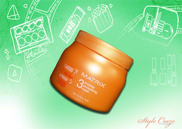 matrix opti care intense smooth and straightening hair mask