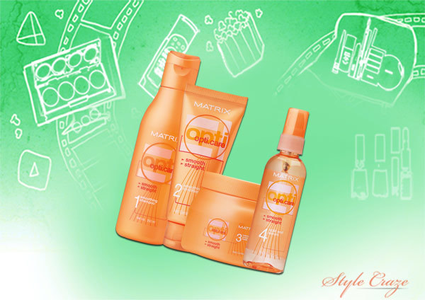 matrix opti care range for smooth and straight hair Pinit