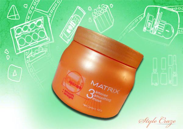 matrix opticare intense smoothing hair mask