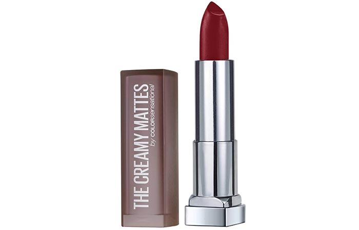 Maybelline Color Sensational Matte Lipstick in Divine Wine