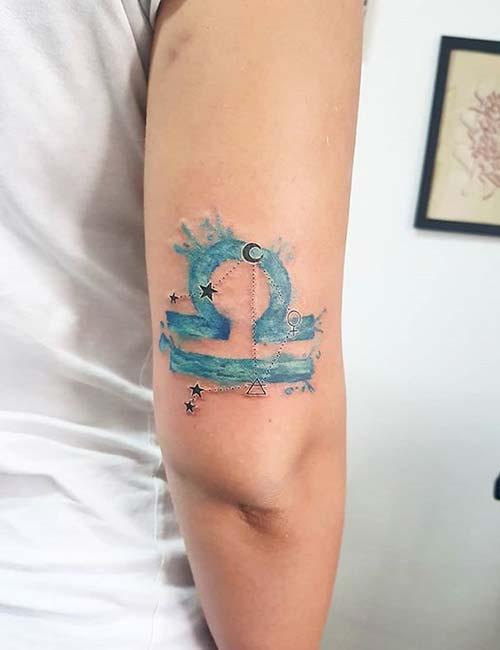 Miami Ink Libra Tattoo