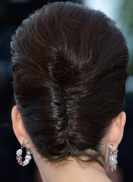 Mishmash of Bouffant and French Twist