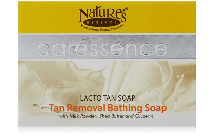 Nature's Essence Caressence Tan Removal Bathing Soap