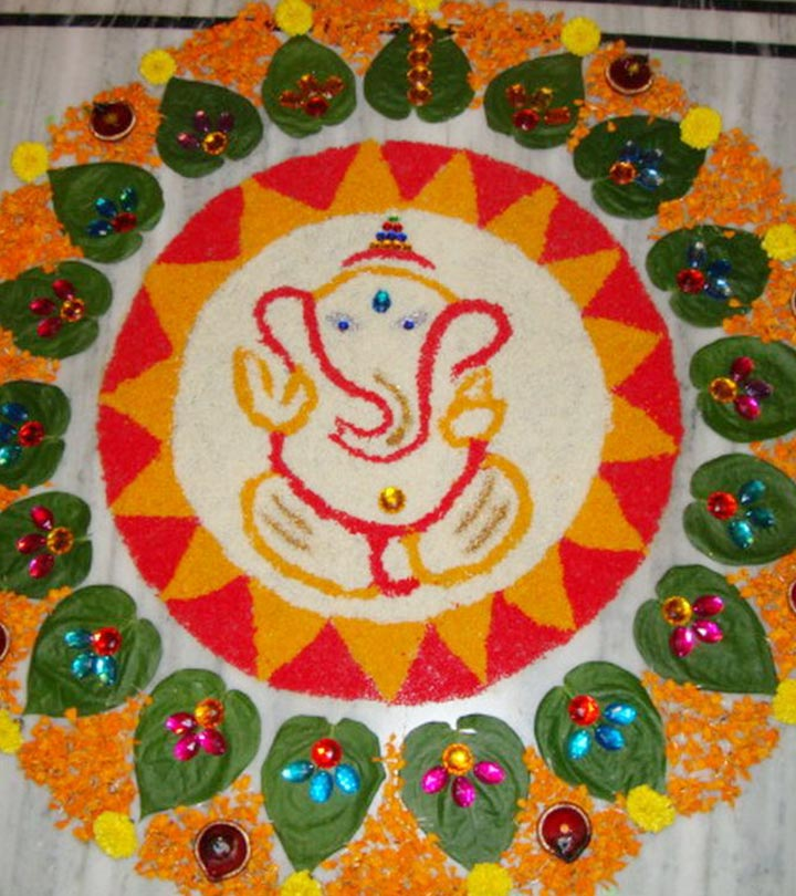 Top 10 North Indian Rangoli Designs To Try In 2019
