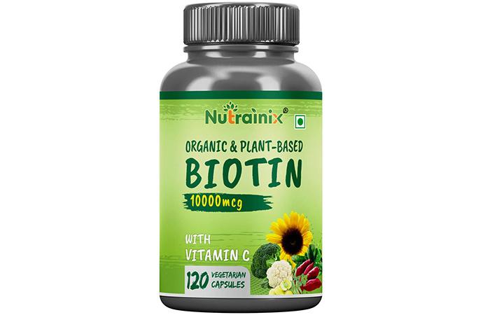 Nutrainix Organic And Plant-Based Biotin