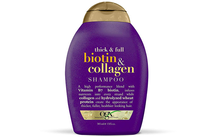 OGX Thick Full Biotin Collagen Shampoo