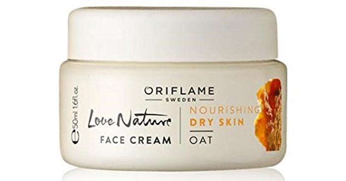 Oriflame Love Nature Face Cream - Skin Care Products For Dry Skin