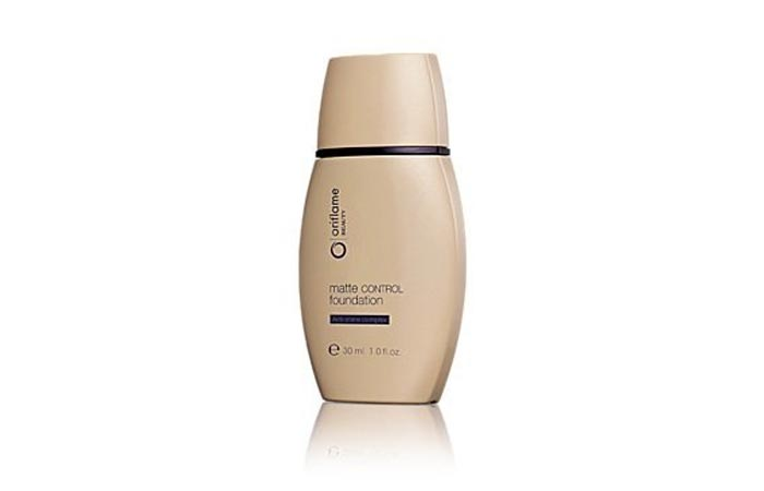 3. Oriflame Matte Control Foundation (Natural) - Best Natural Foundation