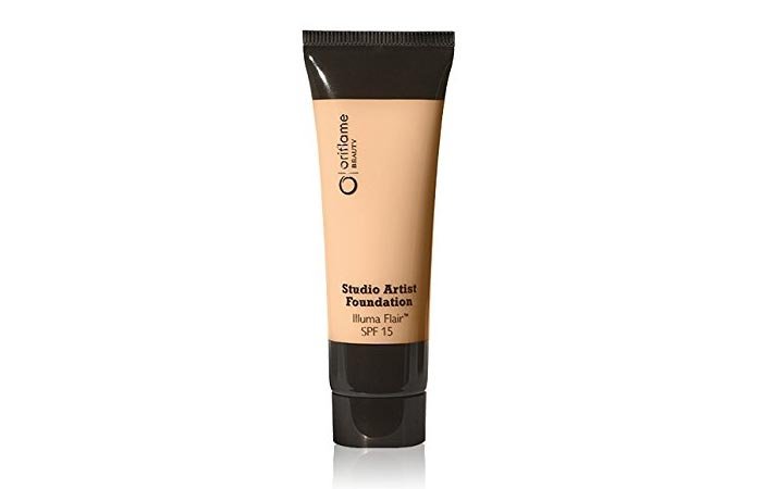1. Oriflame Studio Artist Foundation - Best Natural Foundation