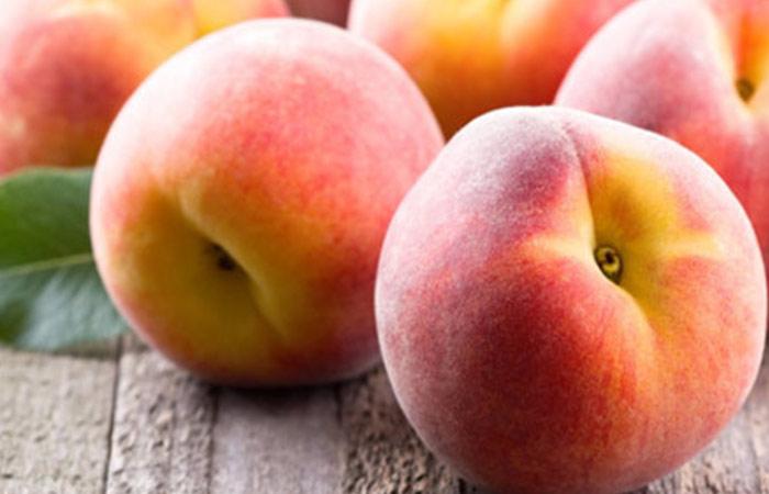 Peaches for hair growth