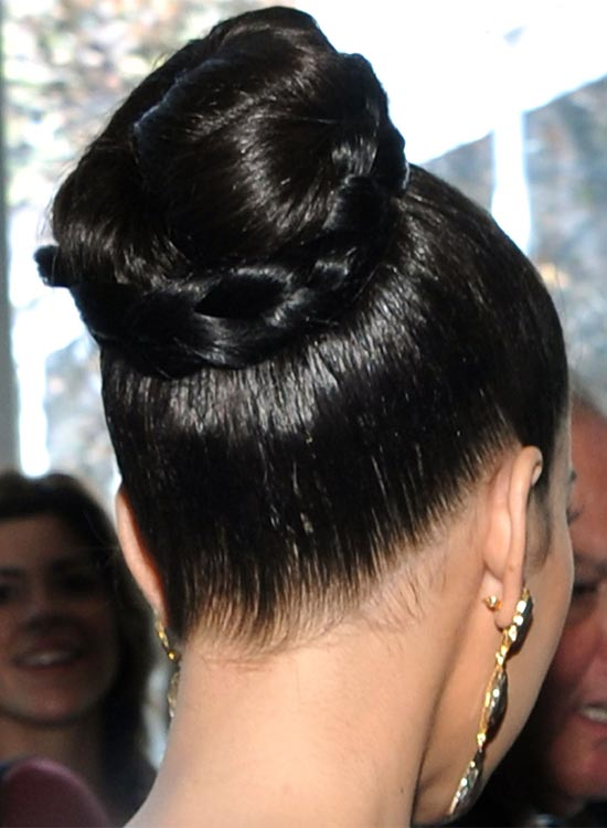 Polished Ballet Bun with Braided Wrap
