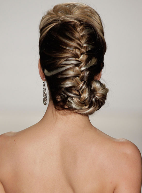 Image result for Puffy French Braid With Spiral End